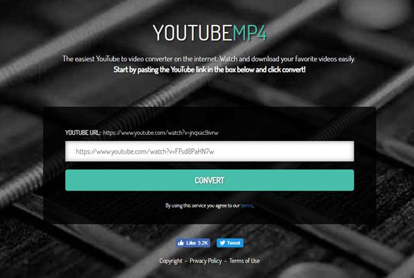 Si vous n'avez besoin que de télécharger vos vidéos YouTube au format MP4