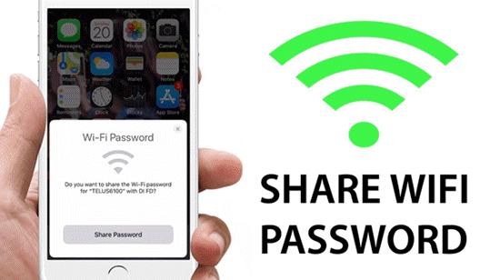 Comment visualiser et partager un mot de passe Wi-Fi sur iPhone?