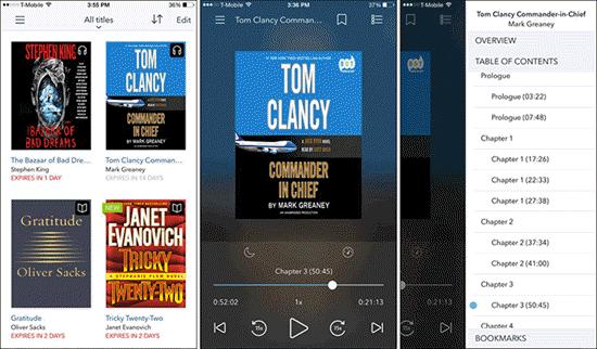 Esta aplicación presenta más de 28,000 títulos de audiolibros en todo el mundo para que los usuarios escuchen en iPhone.