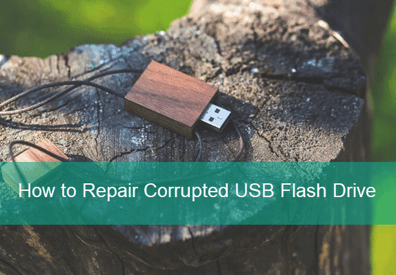 Repair USB Flash Drive