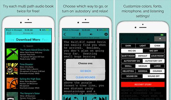 Multi-Path Audio es una aplicación de audiolibros para iPhone llena de diversión tanto para niños como para adultos.