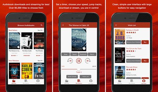 Esta es una aplicación de audiolibro única para iPhone. Le ayuda a descargar cualquier audiolibro y transmitirlo sin conexión.