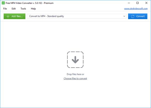 Pasos para convertir de MOV a MP4 usando Free MP4 Video Converter