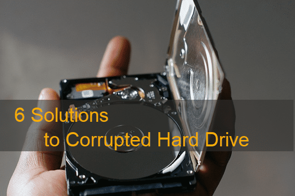 Recover Corrupted Hard Drive Disk