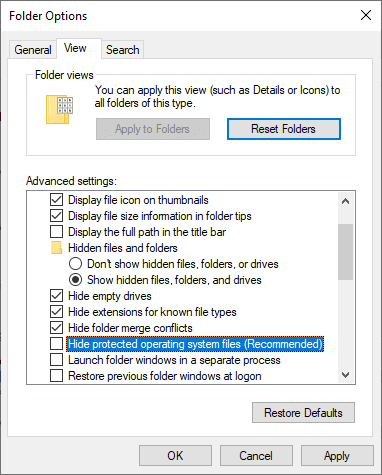 Re-create Recycle Bin in Windows 7/8/10