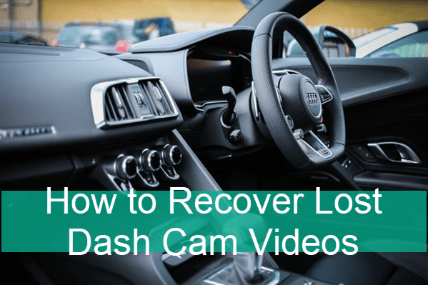 How to Recover Lost Dash Cam Footage.