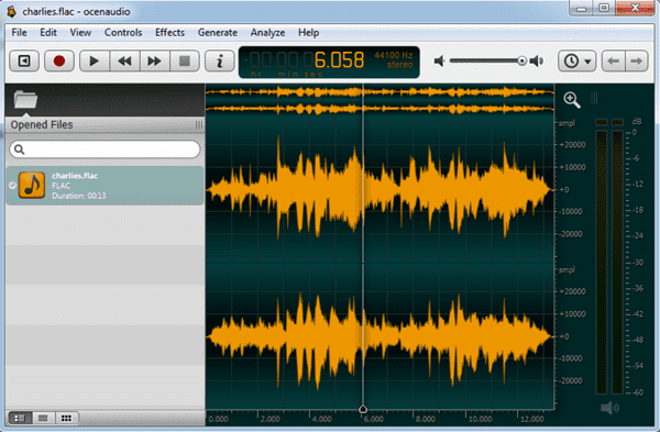 Similar to Audacity, Ocenaudio is also a cross-platform audio editing software.