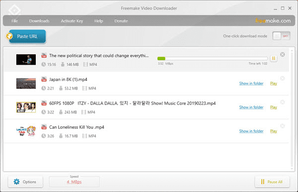 Freemake Video Downloader is another option next to Gihosoft TubeGet