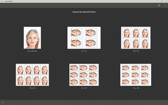 This passport photo maker is available in Microsoft Store as a UWP app.